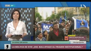 La Bolivia de Evo: ¿del ballotage al fraude electoral?
