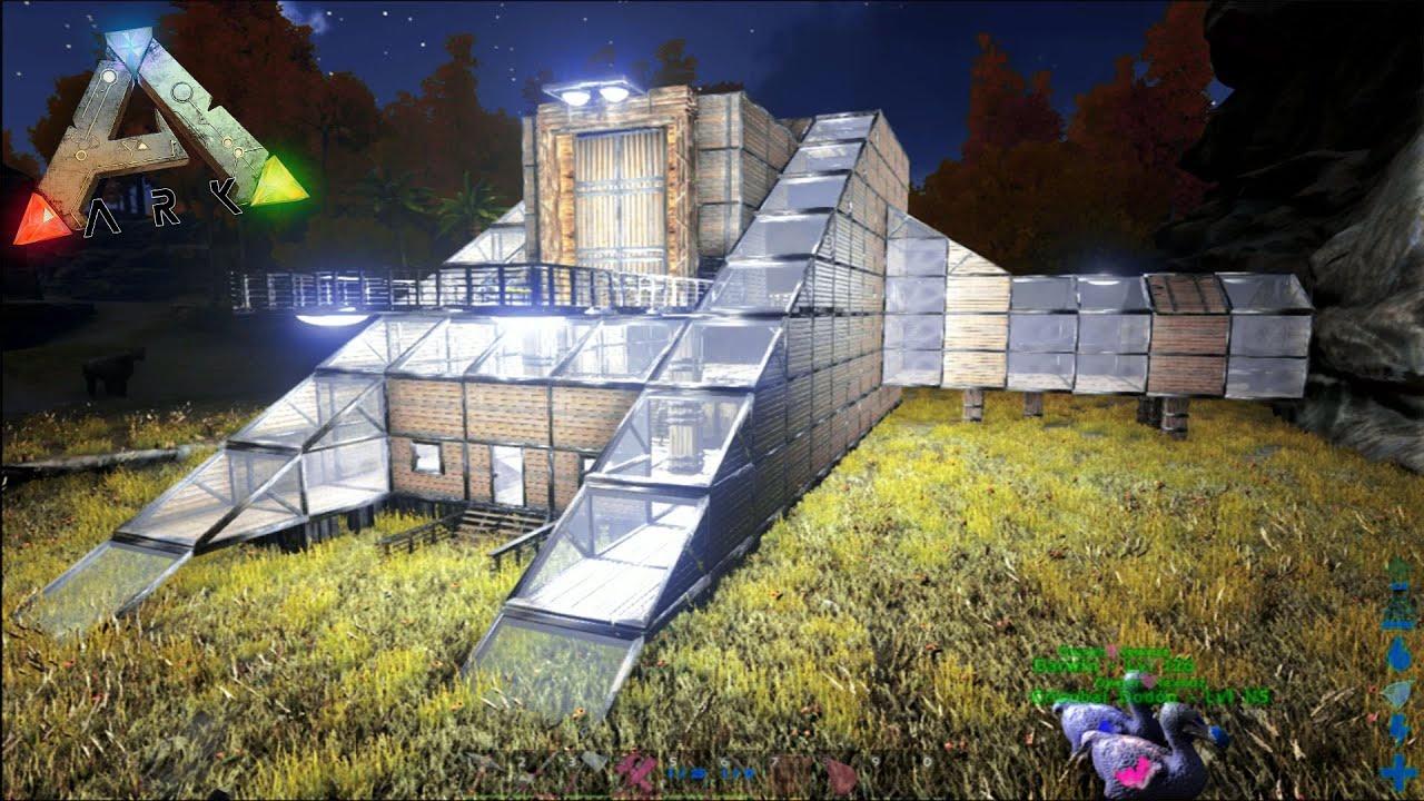la mejor casa que he creado ark guerra tribal mods 04