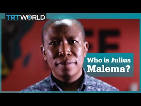 Five things you need to know about South Africa's EFF party leader Julius Malema