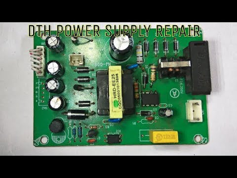 DTH SMPS (Power Supply) Repair - YouTube