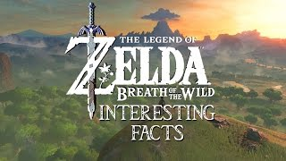 Legend of Zelda: Breath of the Wild Interesting Facts - Characters, World and Abilities