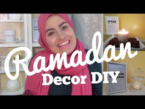 C mo decoro mi casa en ramadan 4 ideas f ciles y for Laminas para cuadros baratas