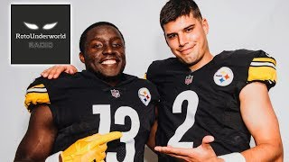 The podfather matt kelley (@fantasy_mansion) and adam levitan (@adamlevitan) discuss bond between quarterback mason rudolph wide receiver james washi...