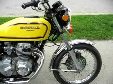honda cb 400 four super sport 1977 jaune yellow youtube. Black Bedroom Furniture Sets. Home Design Ideas