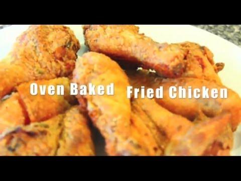 Oven Baked Crispy Fried Chicken Ep.19