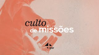 Culto de Missões 13.12.2020 | IPB em Santa Rita