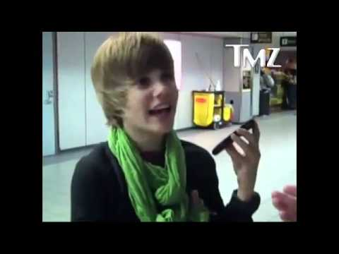 Justin Bieber and Scooter Braun arguing over a toy helicopter