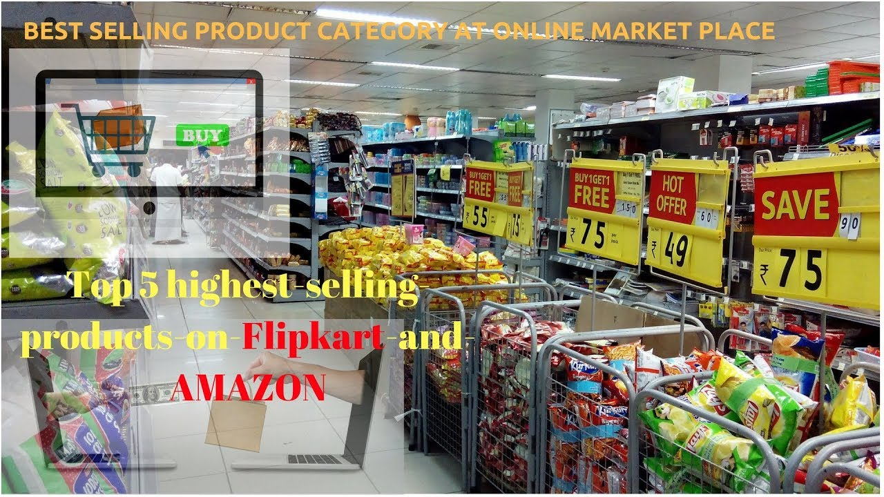 TOP 5 profitable product category to sell online at Amazon, Flipkart,  Snapdeal and Ebay in india
