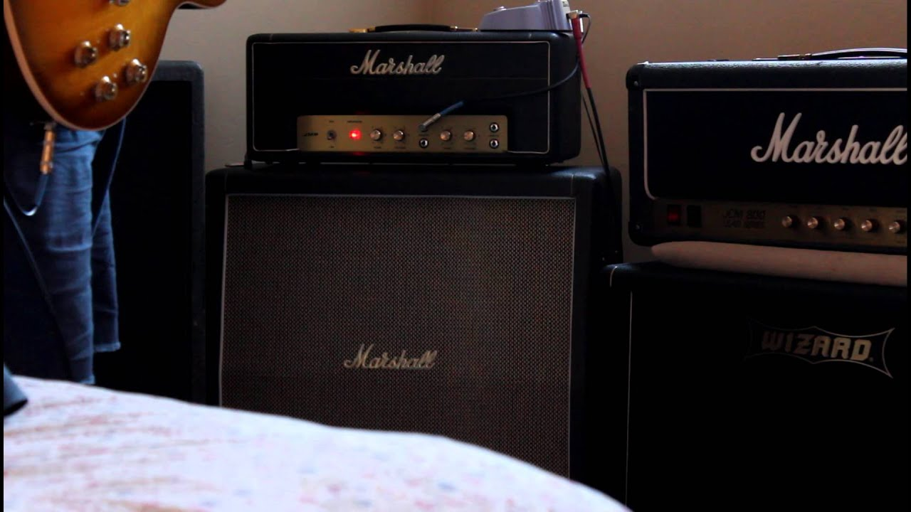 Handwired Marshall 2061X + matching 2061CX 2x12 Cabinet - YouTube