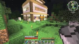Выживание в minecraft #23 Продолжая строительство
