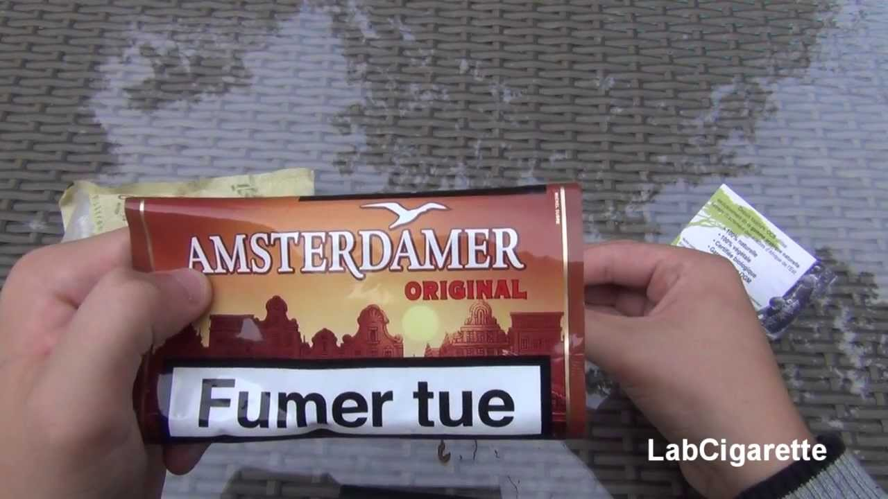 Test 11 Amsterdamer Tabac A Rouler Youtube