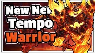 Dat New New Tempo Warrior - Saviors Of Uldum - Hearthstone