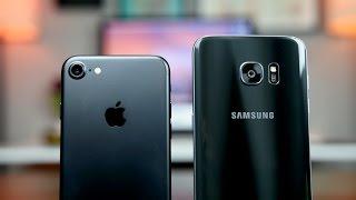 iPhone 7 vs S7 Edge Camera Comparison