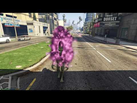 GTA 5 Mods #20 - Những siêu quái vật từ bản mod Menyoo