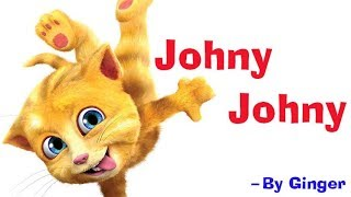 Johny Johny Yes Papa By Talking Tom | Popular Kids Nursery Rhyme | Poem | Kidda TV