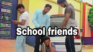 School friends || International villager