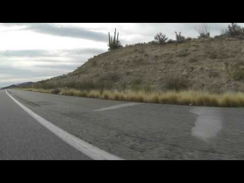 Traveling past Nothing, Arizona on U.S. Route 93 South, 19 December 2015, GP070062