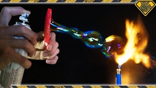Are BUBBLES Flammable? thumbnail