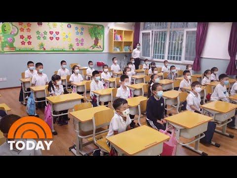 What China Is Doing To Keep 240 Million Schoolchildren Safe From Coronavirus | TODAY