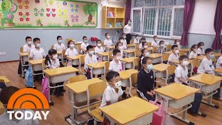 What China Is Doing To Keep 240 Million Schoolchildren Safe From Coronavirus | TODAY