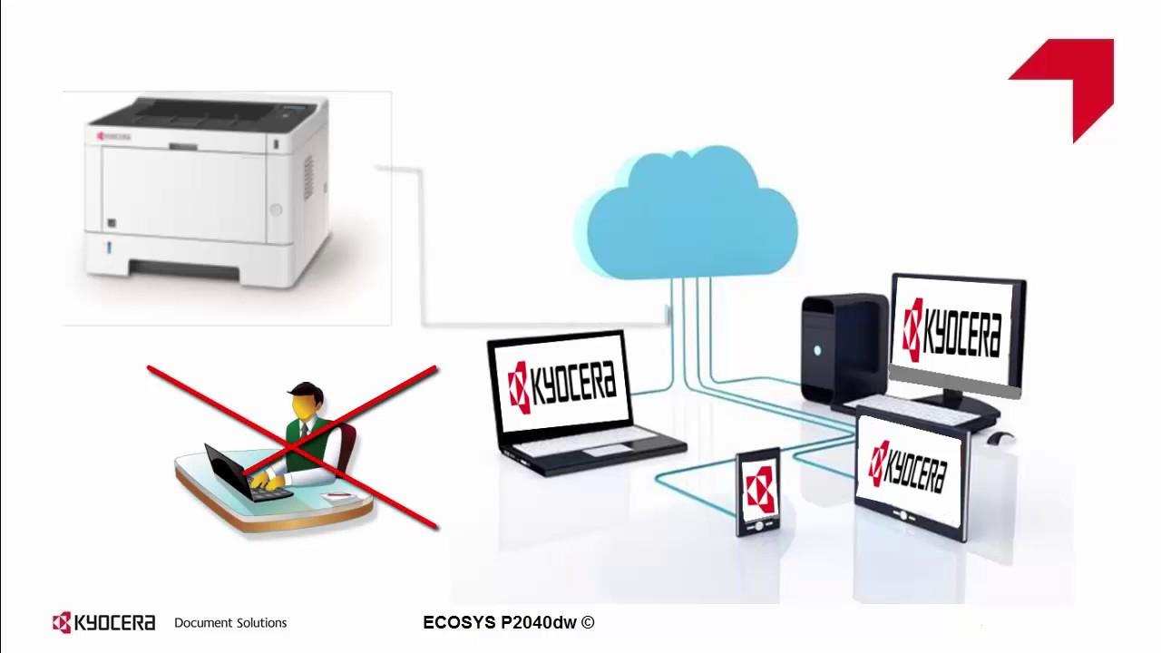 ECOSYS P2040dw Configuración de red Ethernet