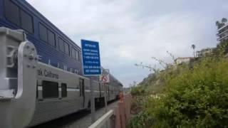 Railfanning San Clemente Pier Feat Railroad Crossing Malfunctions