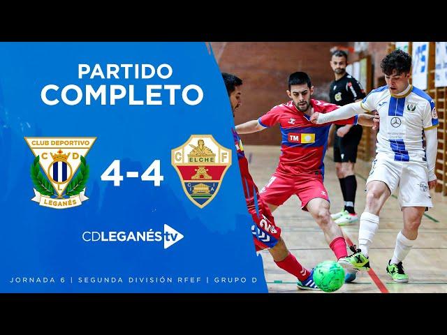 C.D. Leganés FS vs Elche C.F.