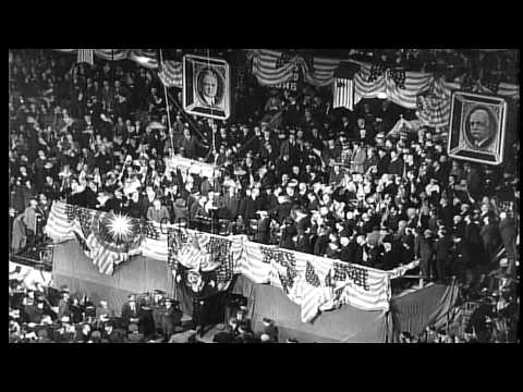 The Republican Party renominates the Hoover-Curtis ticket at its 1932 National Co...HD Stock Footage