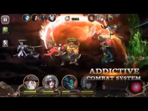Legends of 100 Heroes Game Play (Google Play)