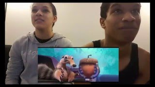 Ice Age Collision Course Trailer #1 Reaction