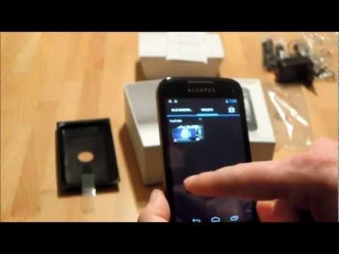 Unboxing und erste Eindrücke Alcatel One Touch 997D Ultra - www.technoviel.de