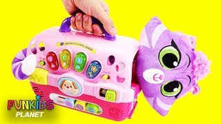Puppy Dog Pals Hissy Cat & Dog Carriers Playset
