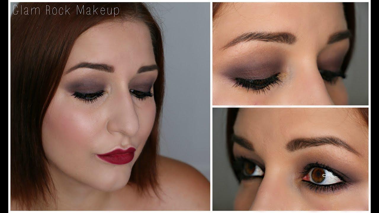 Assez Tutoriel Maquillage n°8 ] : Glam Rock I Debutant ♡ - YouTube OK58