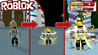TRANSFORMACIONES SUPER SAIYAJINES!!! Dragon Ball Z Final Stand-Roblox