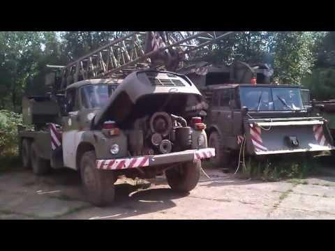 Startování Tatra 813 Za Pomoci T148