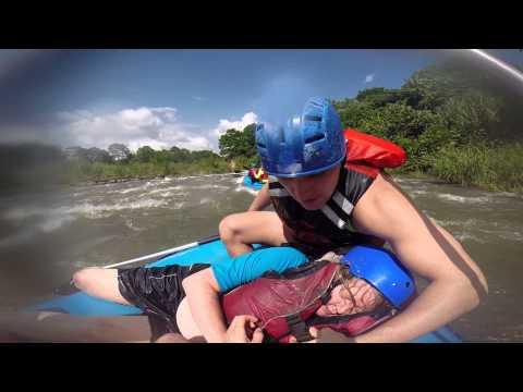 Costa Rica White Water Rafting Rescue