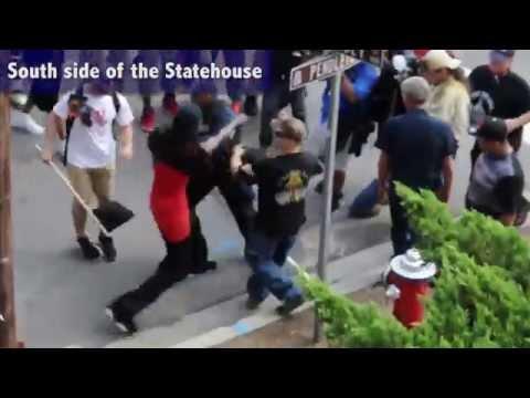Black Panthers vs. KKK Rallies - Columbia, SC