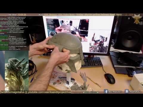 skyrim online helmet sculpting Nord Hero