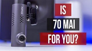 XIaomi 70 Mai Review International English Ultra Cheap DVR With High Video Quality