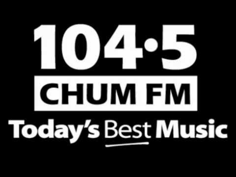 CHUM FM 104 5 Toronto - Lee Eckley Jeff O'Neil - August 1989