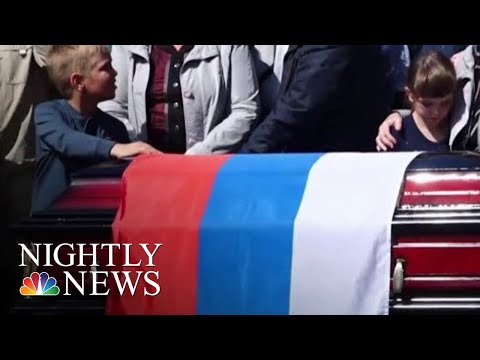 7 Killed In Explosion At Suspected Test Site For Secret Nuclear-Propelled Missile | NBC Nightly News