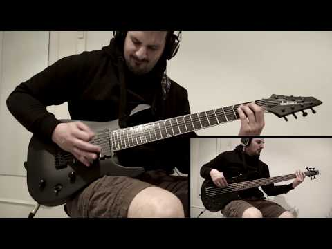 """Fear Factory """"linchpin"""" guitar cover"""