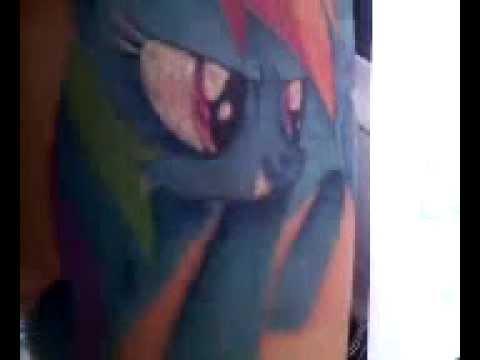 My Little Pony: Friendship Is Magic - Rainbow Dash Tattoo!