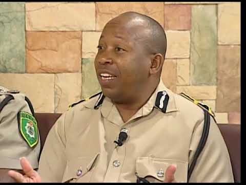 Belize Police Depratment - Introductory New Commissioner of