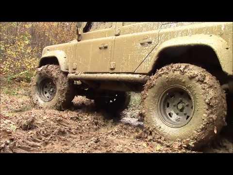 Land Rover Defender 110 TD5  37''   **Extreme Offroad / 19-11-2017**