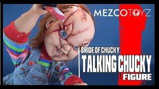 Throwback | Mezco Toyz Bride of Chucky Talking Chucky Doll