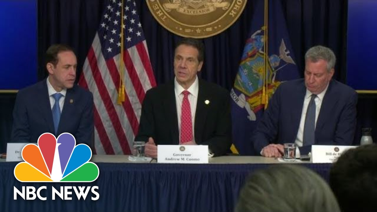 New York Officials Update On First Confirmed Coronavirus Case In State | NBC News (Live Stream)