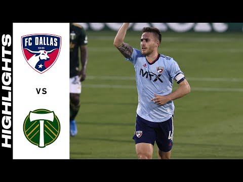 Dallas Portland Timbers Goals And Highlights