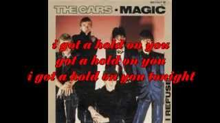 "THE CARS ""MAGIC WITH LYRICS"""