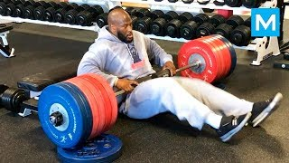 Extreme Strength Workouts for American Football - James Harrison | Muscle Madness
